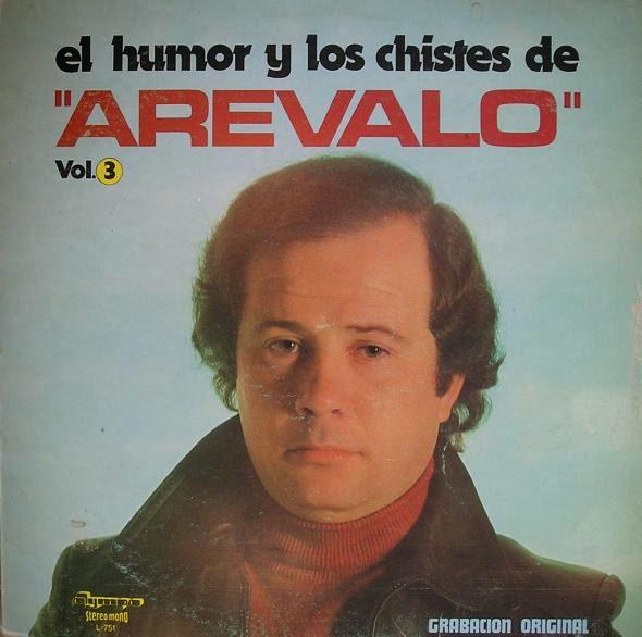 1980 Arevalo disco de platino