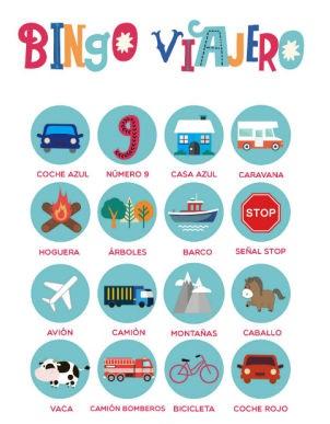 Bingo viajero