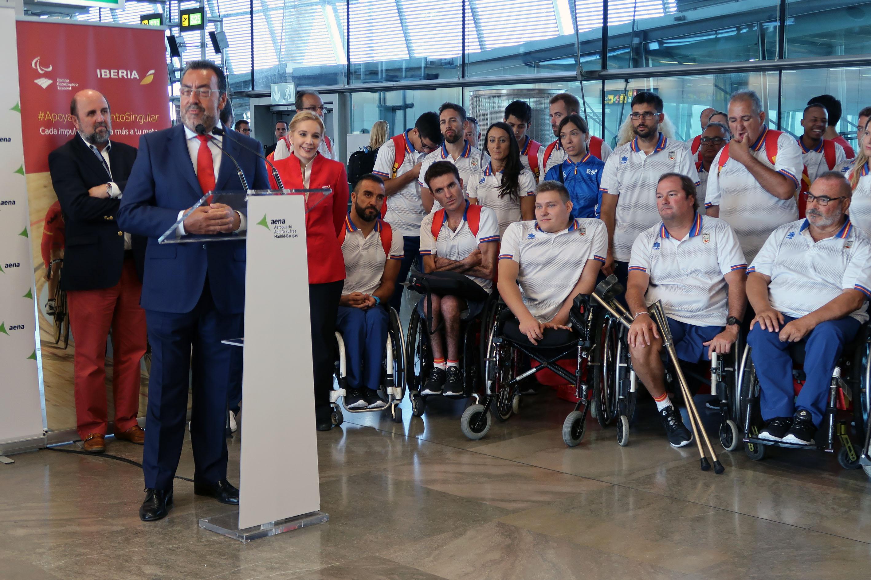 Equipo Paralímpico Español pone rumbo a los Juegos de Río