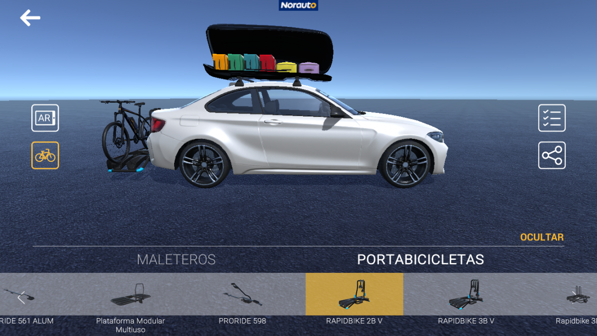 app realidad aumentada norauto paso 5
