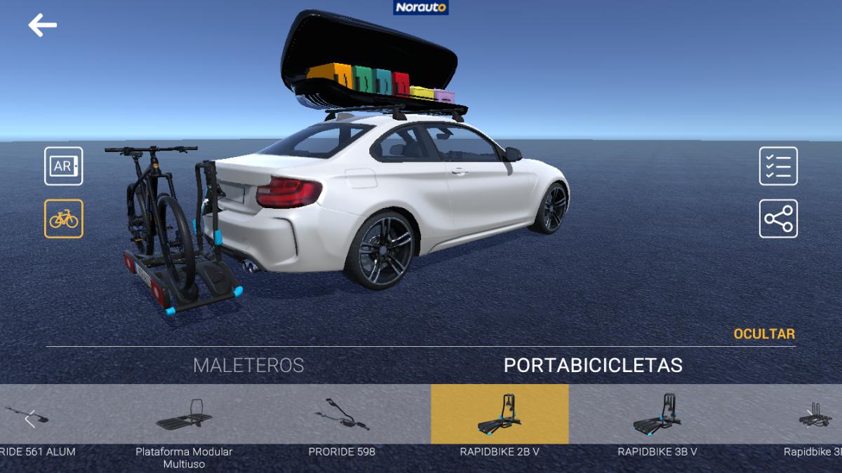 app realidad aumentada norauto paso 6