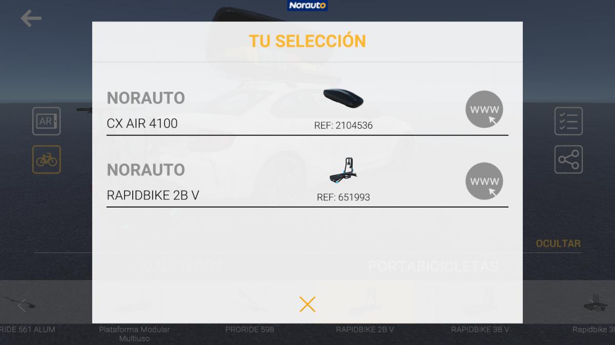 app realidad aumentada norauto paso 7