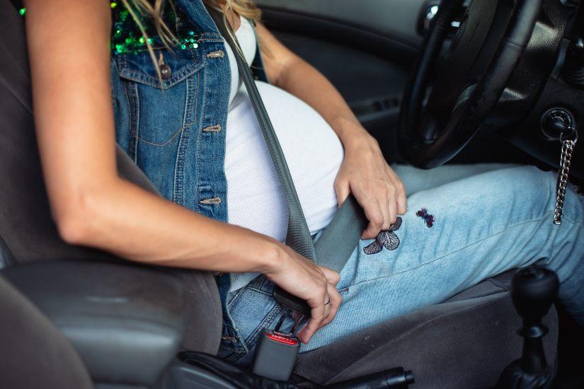 cinturones embarazadas