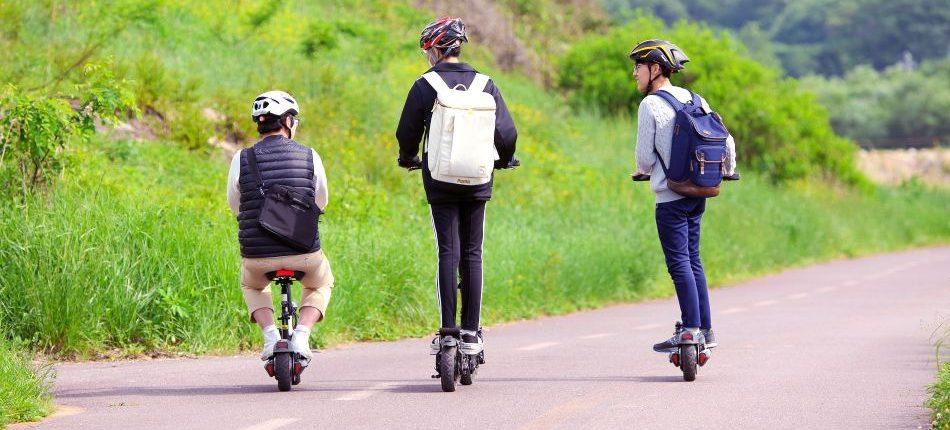 escoger una bici electrica o un patinete electrico