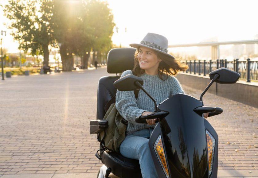 scooters electricas de movilidad reducida